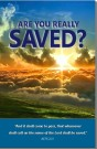 "Order our Free Tract, ""Are you really saved?"""